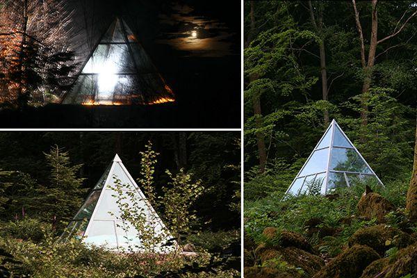 Pyramide De La Ferme Aventure à La Chapelle Aux Bois