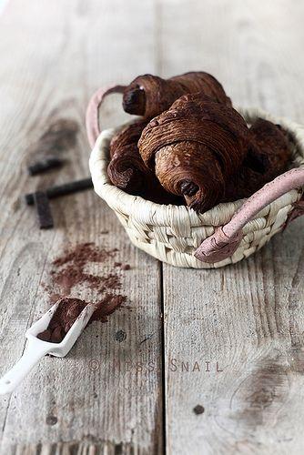 .croissants au chocolat