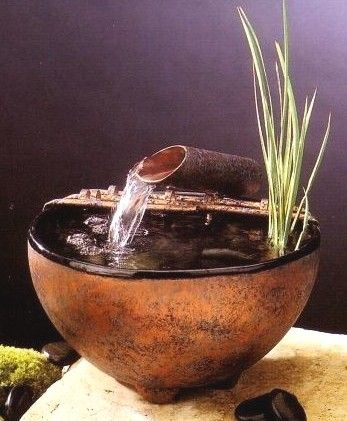 Nature Bowl Tabletop Fountain #601 | Water fountains, Fountain and ...
