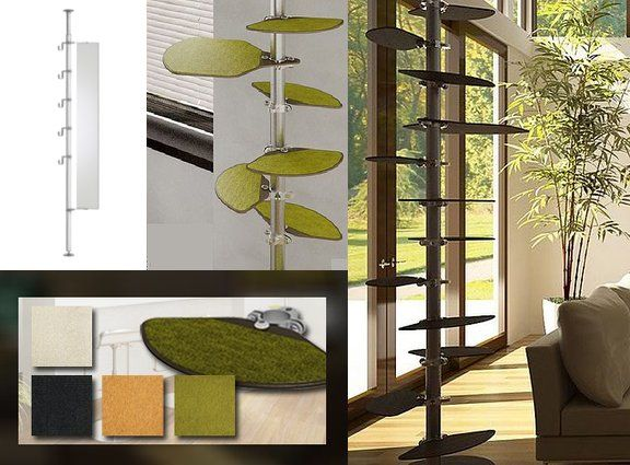 cool cat tree furniture. Hollywood Franklin Tower Cat Tree-our Newest Project For Gru. Cool Tree Furniture