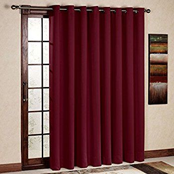 Amazonsmile Rhf Wide Thermal Blackout Patio Door Curtain Panel
