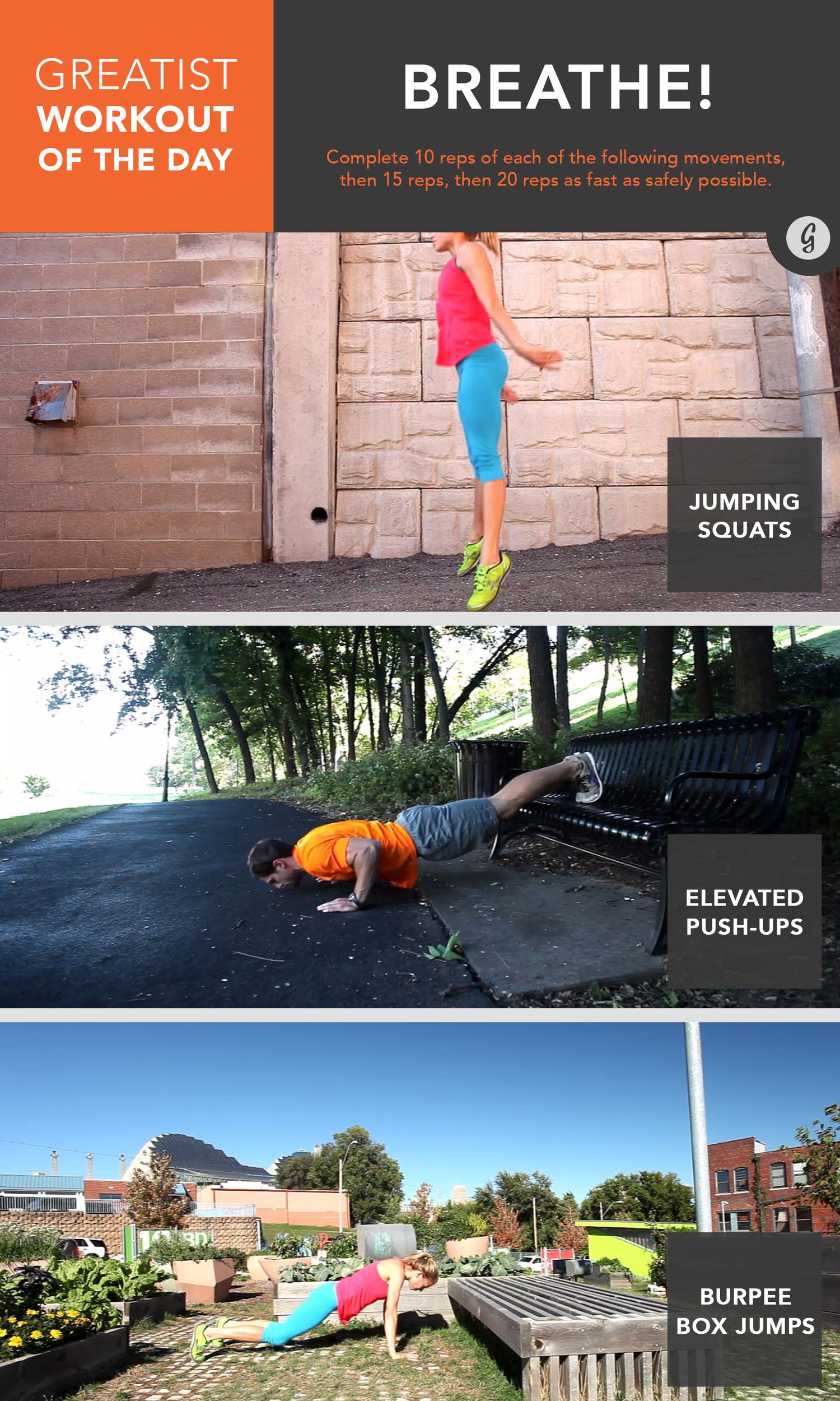 Watch Greatist Workout of the Day: Monday, August 4th video