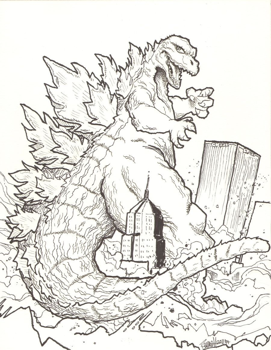 Godzilla Coloring Pages Godzilla Coloring Pages Coloringpages Coloring Coloringbook Colour Monster Coloring Pages Godzilla Birthday Cartoon Coloring Pages