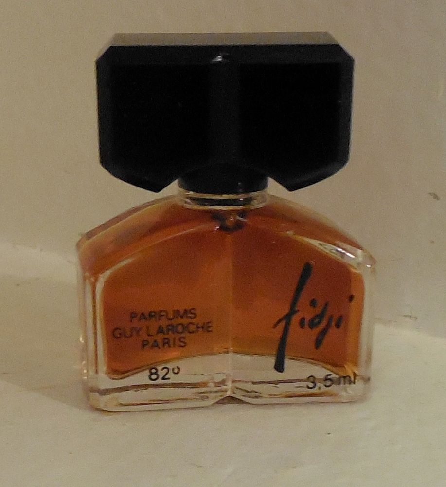 Vintage Fidji Mini Perfume 35ml Full Bottle Parfum France Fendi