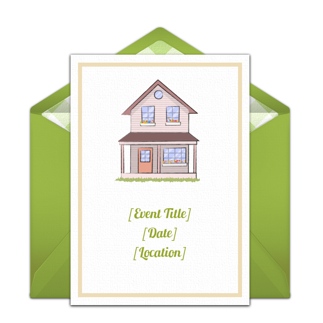 Free Housewarming Invitations  Housewarming Party And Free
