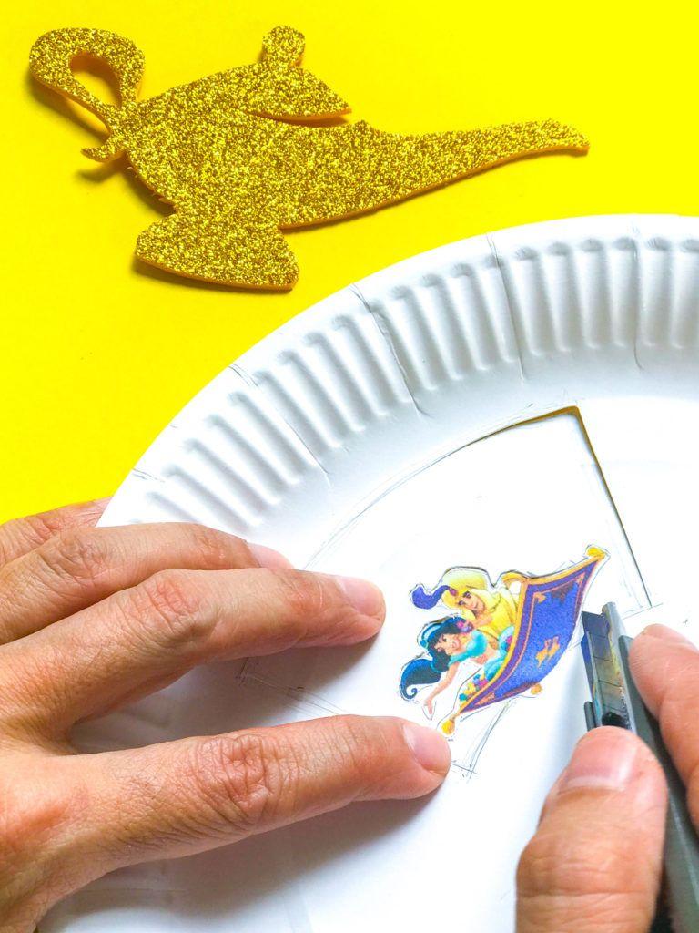 Aladdin DIY Craft: A Whole New World | Diy crafts, Crafts, Diy