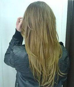 Corte de cabello en extensiones para dama