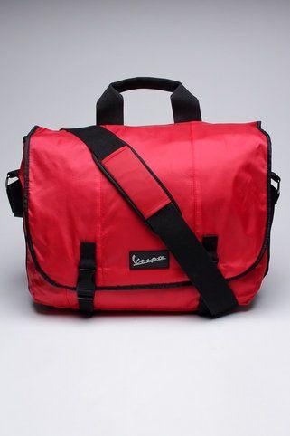 223757518b8d Vespa Nylon Basic Messenger Bag Red