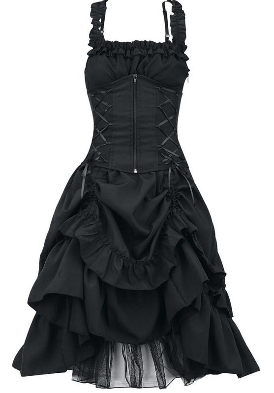 Sukienka Gotycka Z Osobnym Gorsetem Soul Dress Punk Dress Black Victorian Dress Gothic Outfits