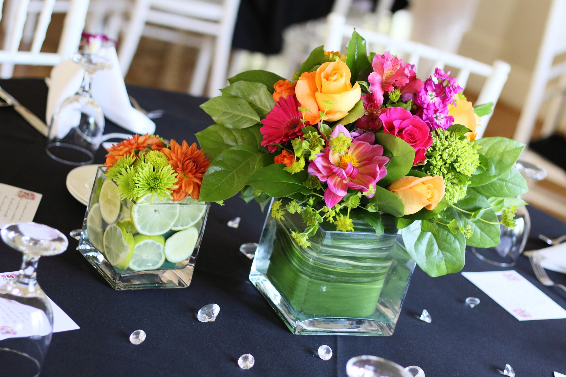 More hydrangea less leaf for summer centerpiece dream wedding square glass vases have features that are helpful for many wedding centerpiece ideas diy wedding flowers and vases just got easier with these ideas junglespirit Images