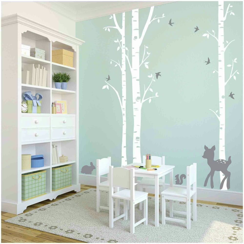 Baby Wandsticker Pin Von Carolin Mue Auf Baby Birch Tree Wall Decal Tree Decal