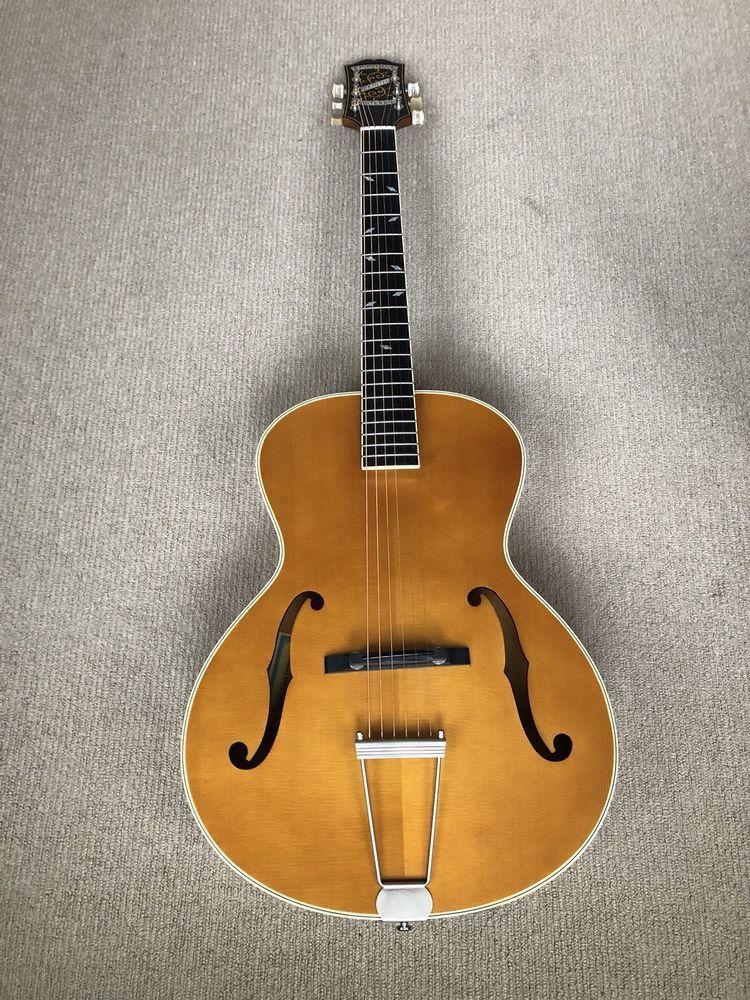 Epiphone Zenith Classic Masterbilt Century F Hole Vintage Natural Acoustic Guitar Epiphone Acoustic