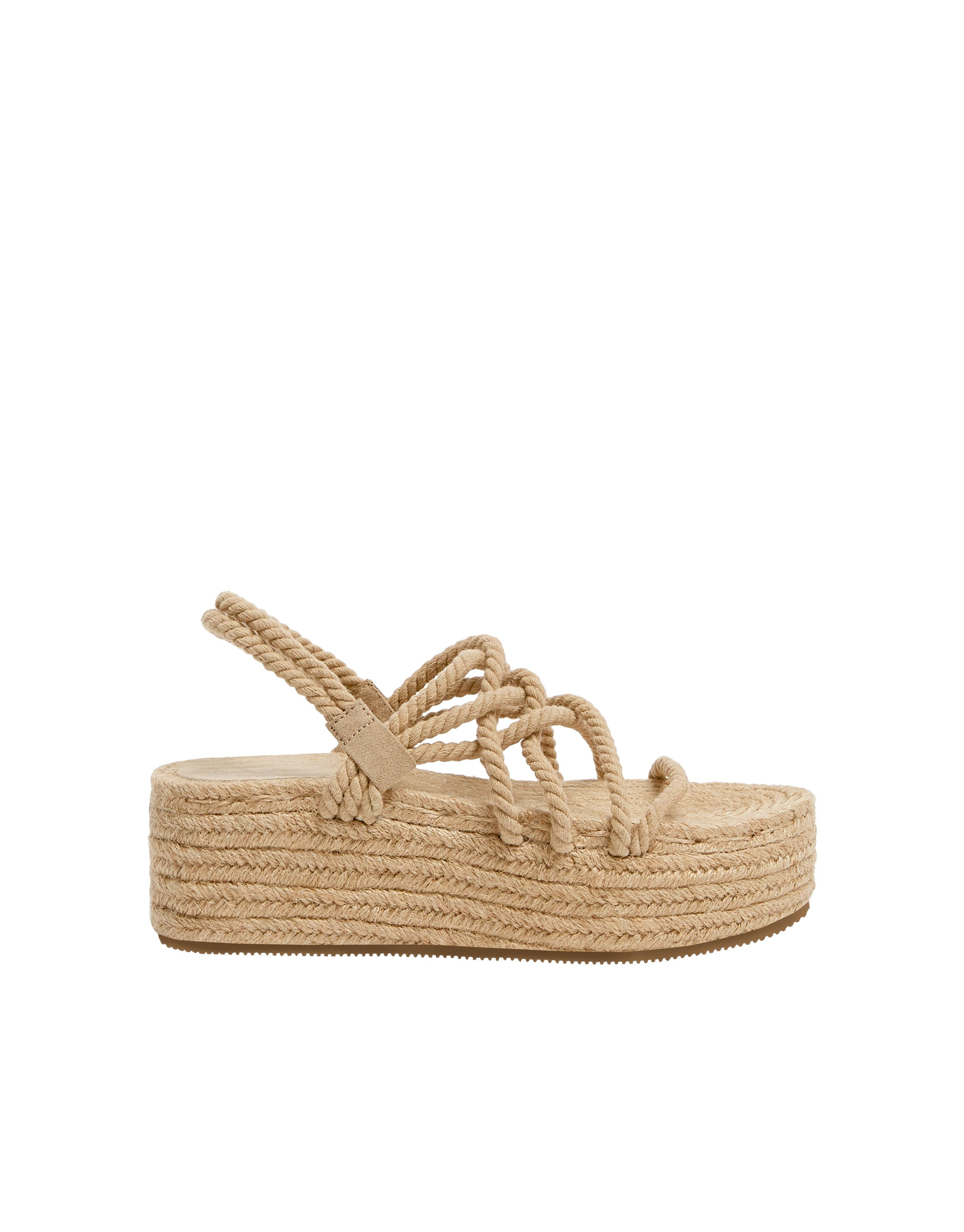 Jute Wedges With Rope Straps Rope Sandals Shoe Design Sketches Sandals