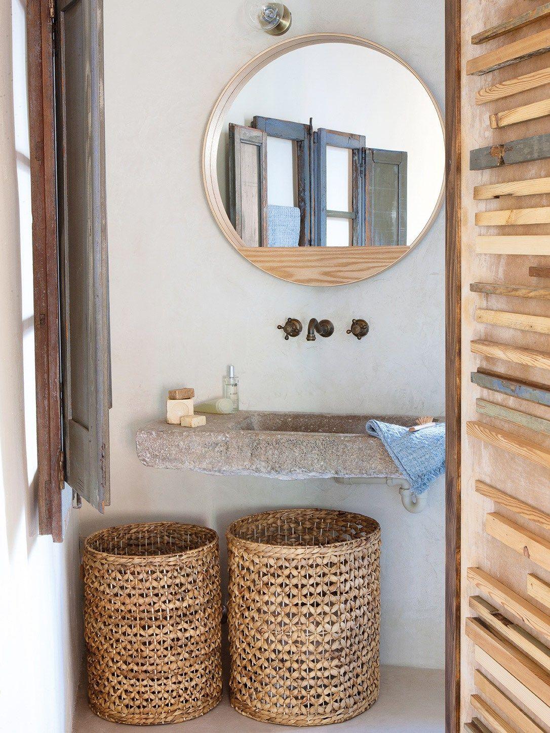 Simply Beautiful Bathrooms: Boasting A Raw, Natural And