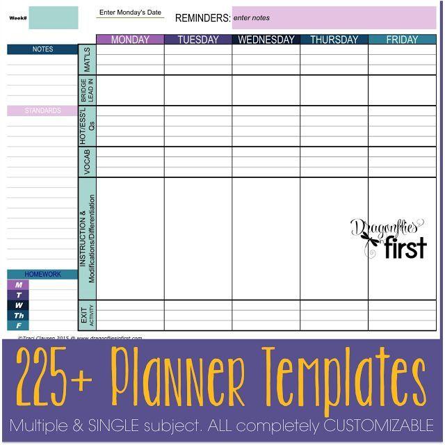 Free Teacher Lesson Plan Book Template Elegant 108 Best Homeschool