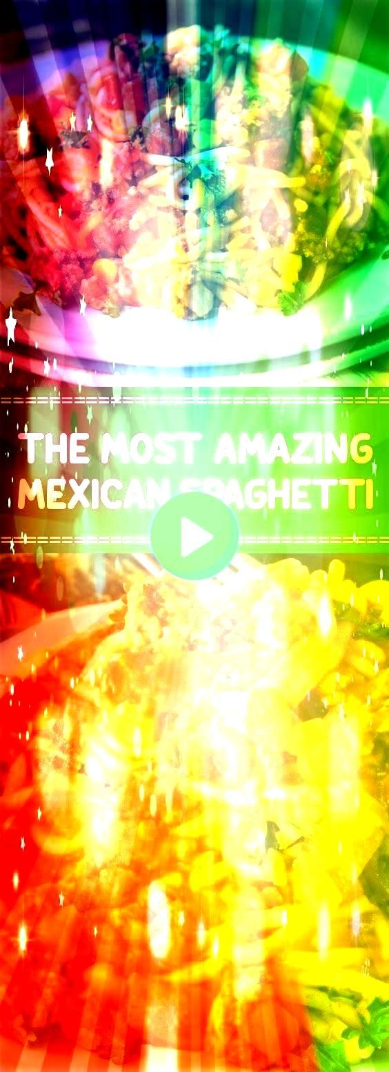 Mexican Spaghetti  Mexican Spaghetti one of my favorite onepot wonders adds a little spice to your dinner table and shaves valuable time off a busy weeknight  allfoodreci...