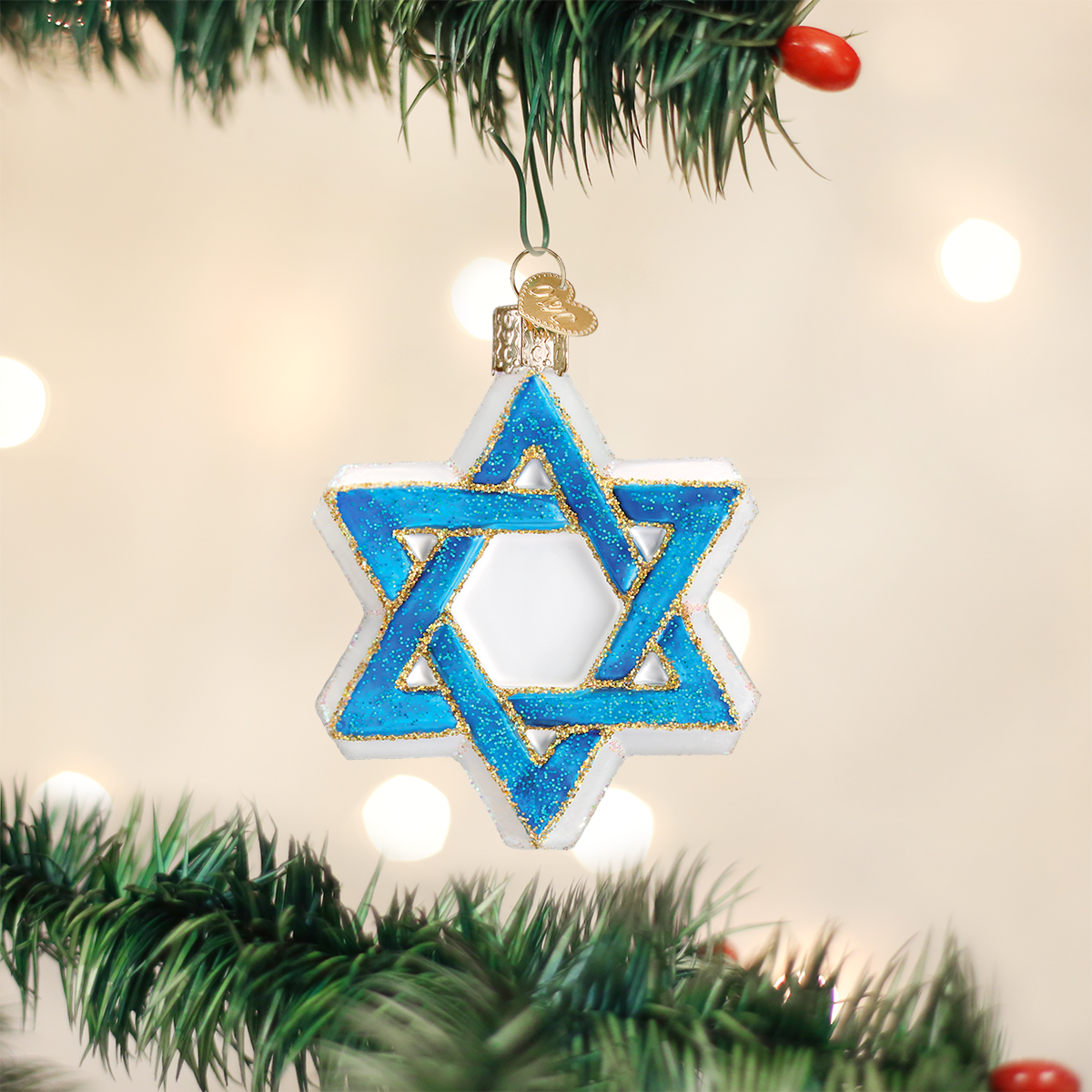 Star Of David Ornament | Old world christmas, Classic ...