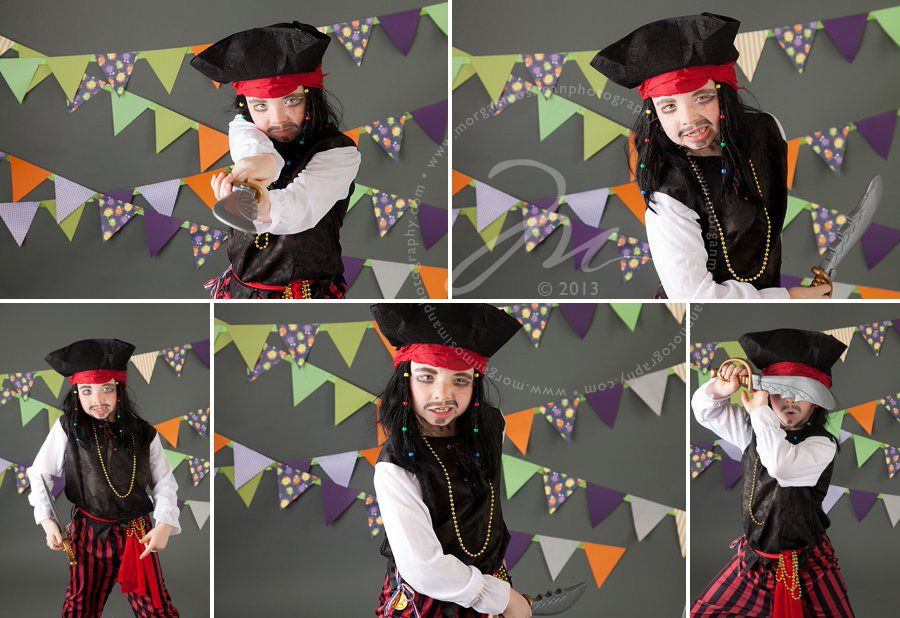 Pirate Halloween Costume Session by www.morganmosimanphotography.com!
