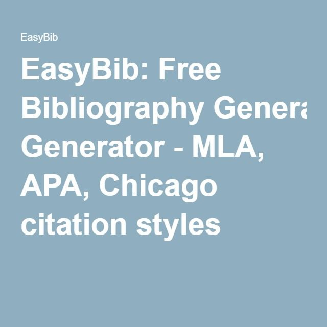 online article mla citation generator