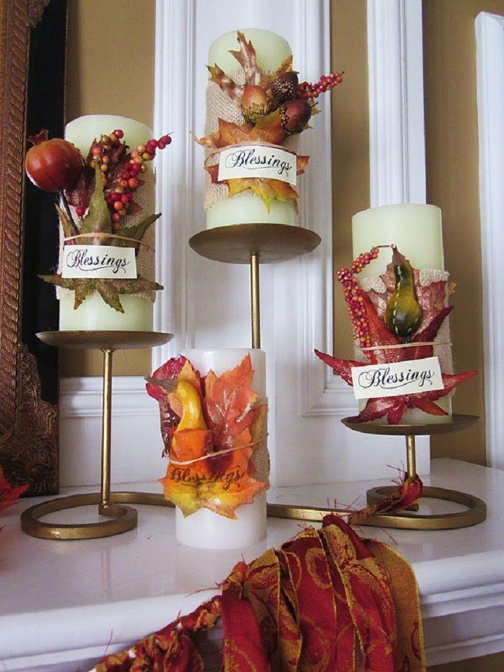 Top 10 Creative Diy Thanksgiving Decorations Pinterest