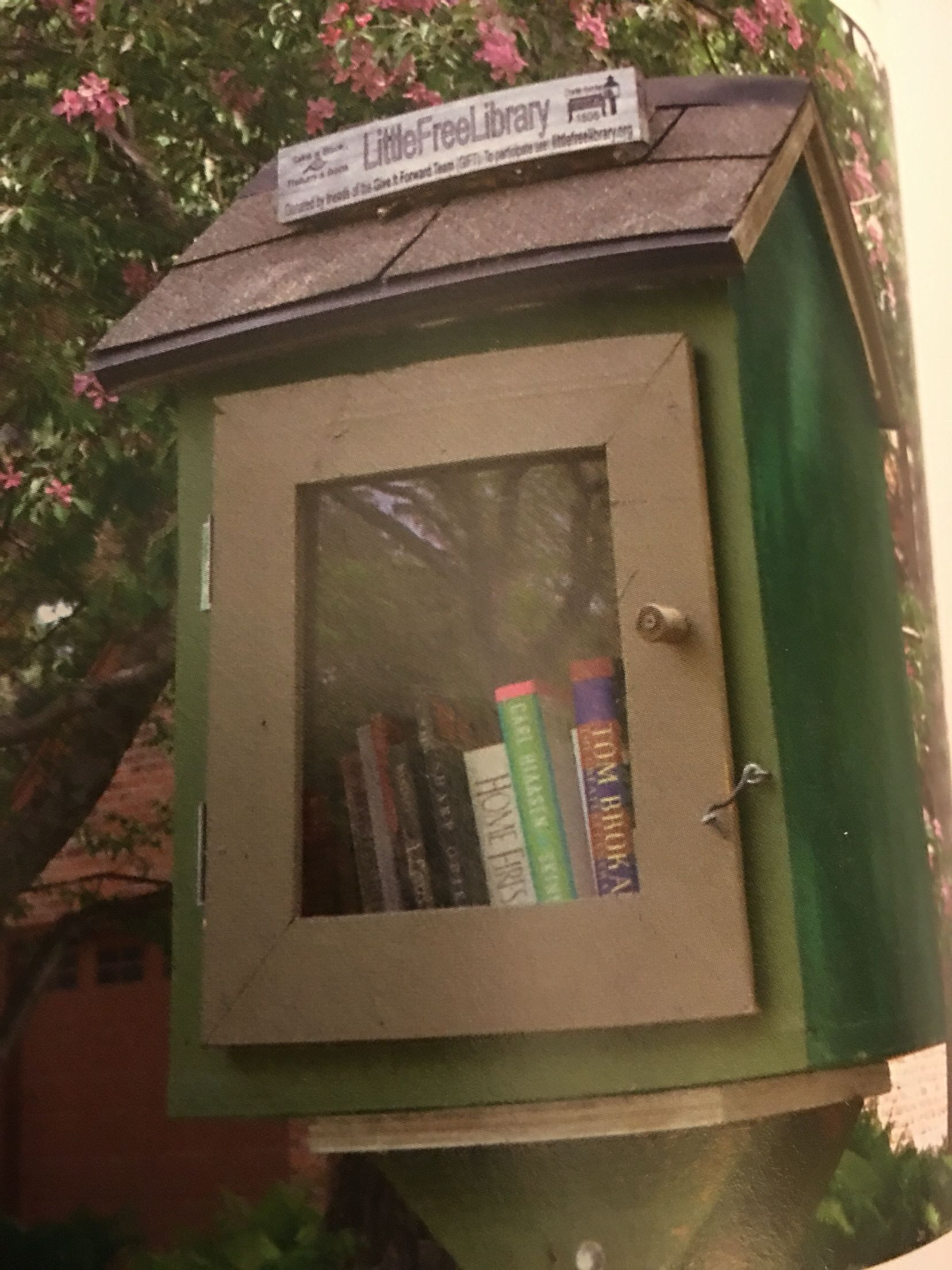 Sample LIttle Free Library