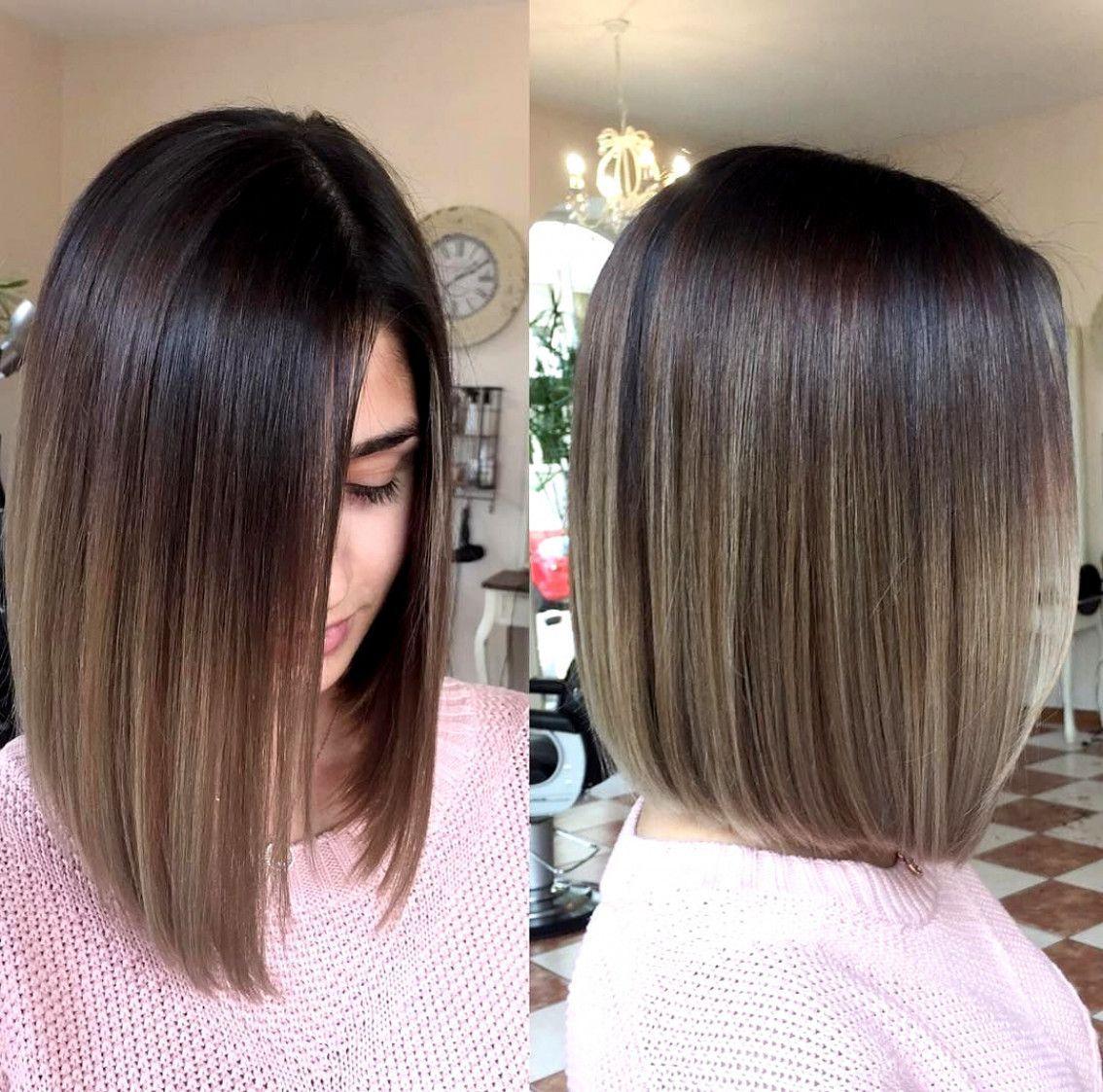 Ombrebalayage Shoulderlengthhair Brownombrehair Ombrehairblonde Shoulderlength Balayagebrunette Ombre Hair Blonde Brown Ombre Hair Short Hair Balayage