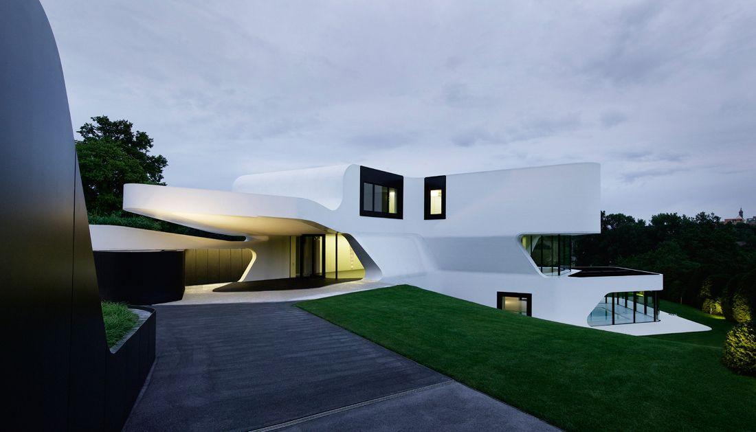 Dupli Casa J Mayer H Architects Futuristic Home Architecture Architecture Exterior