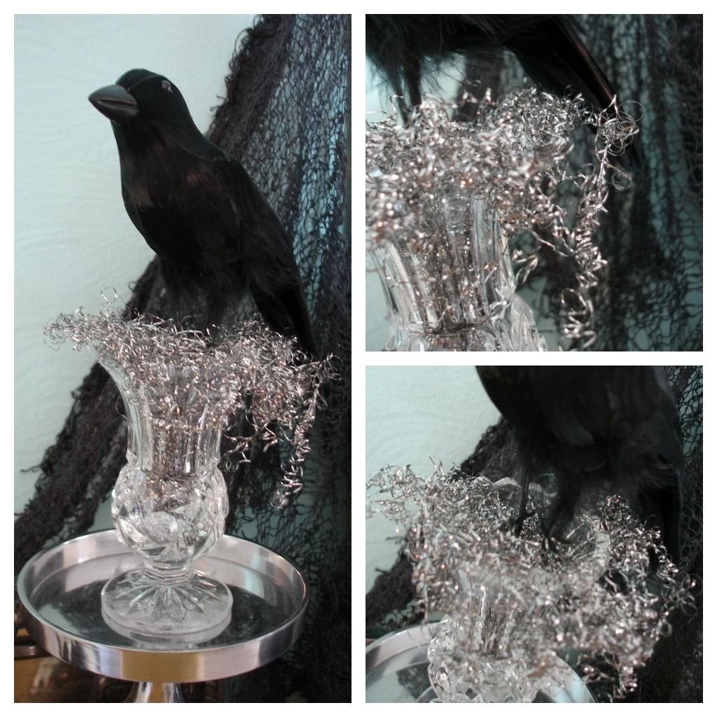 How To Get A Gothic Style Haunted Halloween Mantel