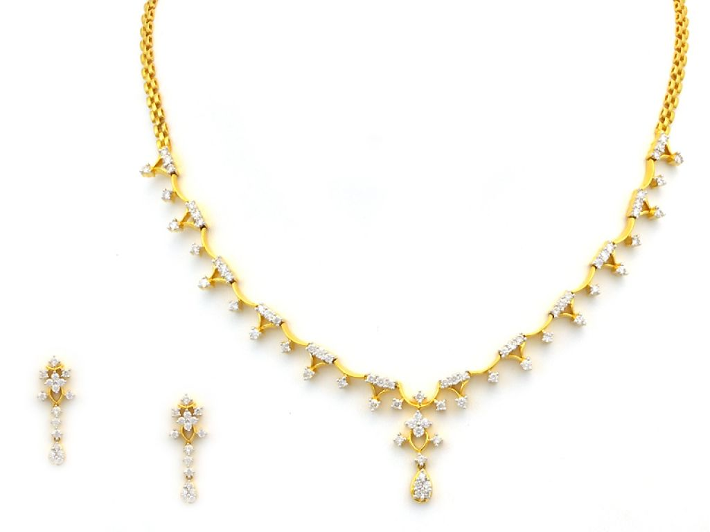 Gold diamond necklace see more stunning jewelry at stellarpieces