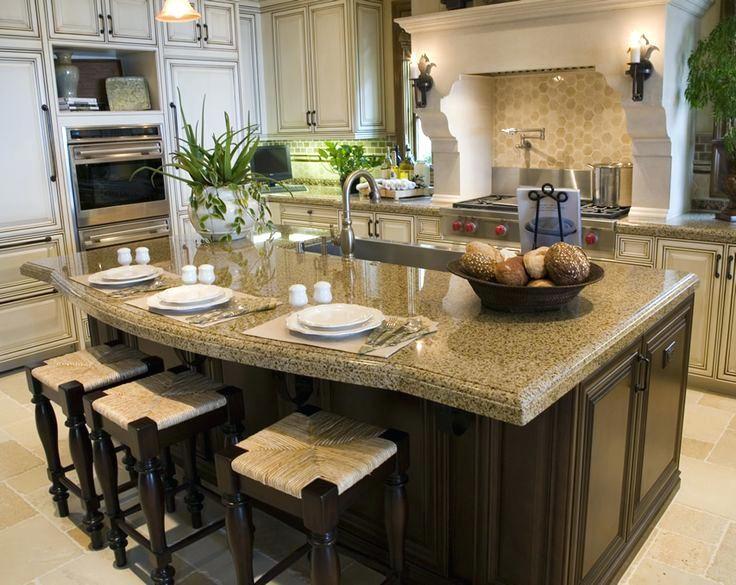 Image result for island decor Home Pinterest Kitchen, Kitchen