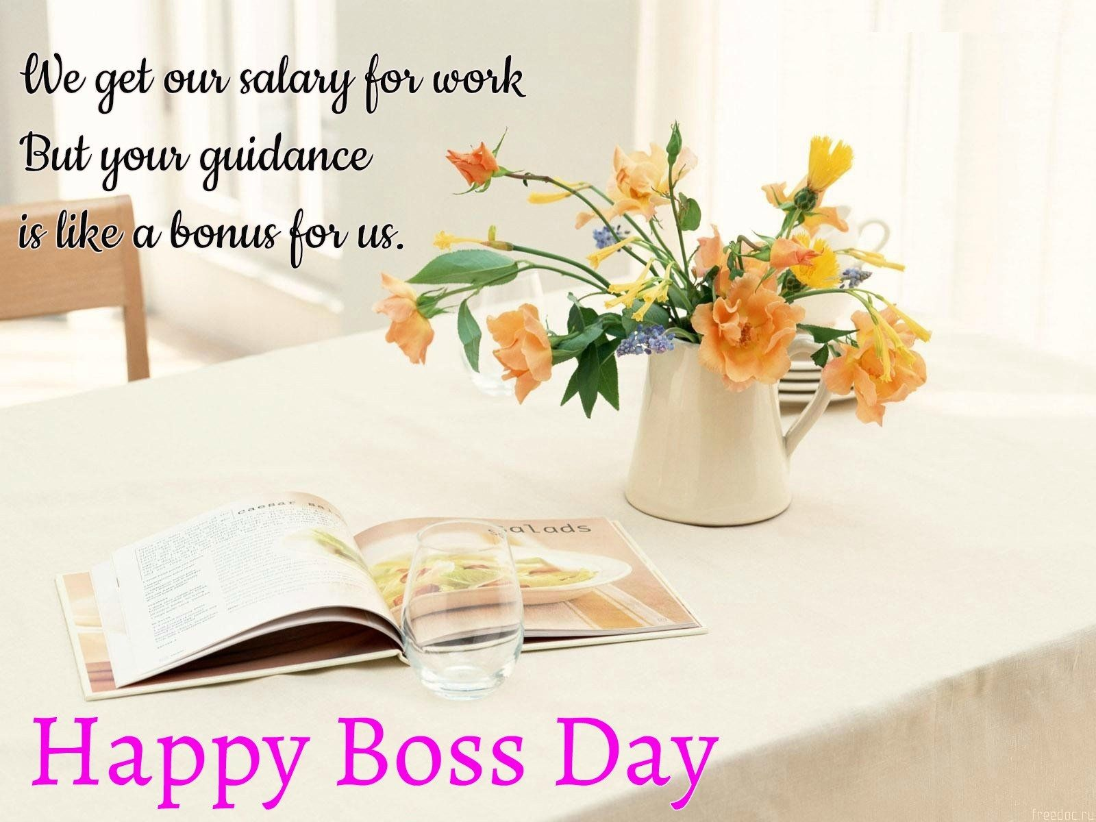 Happy Boss Day Messages Written Happy Boss Day Messages And
