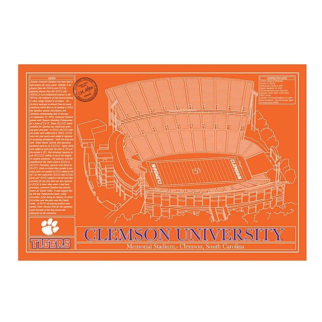 College Football Stadium Blueprint football stadiums