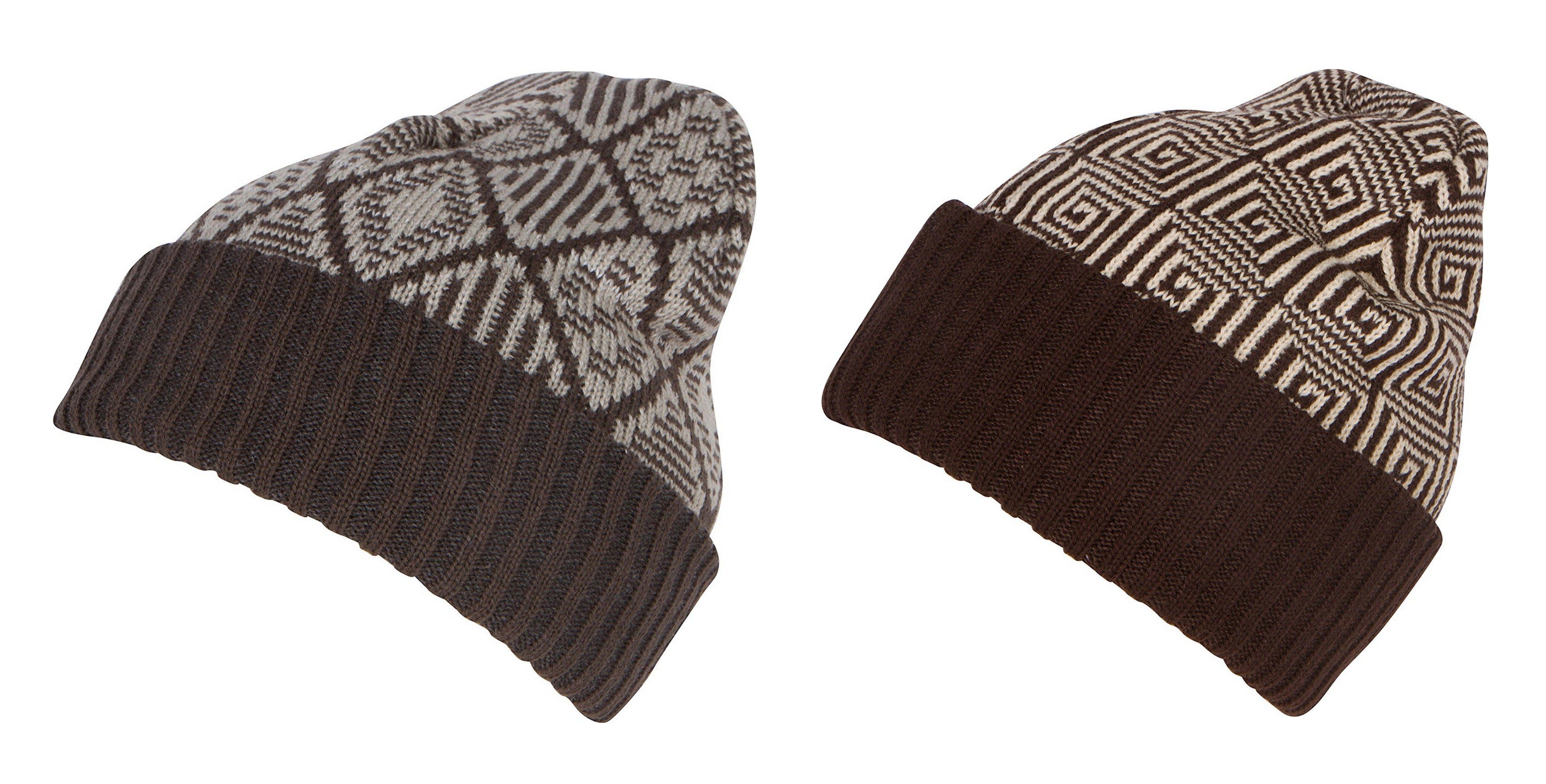 30de57c7bdd Sakkas Lucien Pattern Knit Cap Beanie Hat Warm Light Unisex