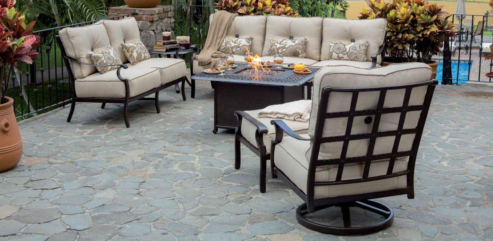 Monterey Collection Castelle Luxury Outdoor Furniture