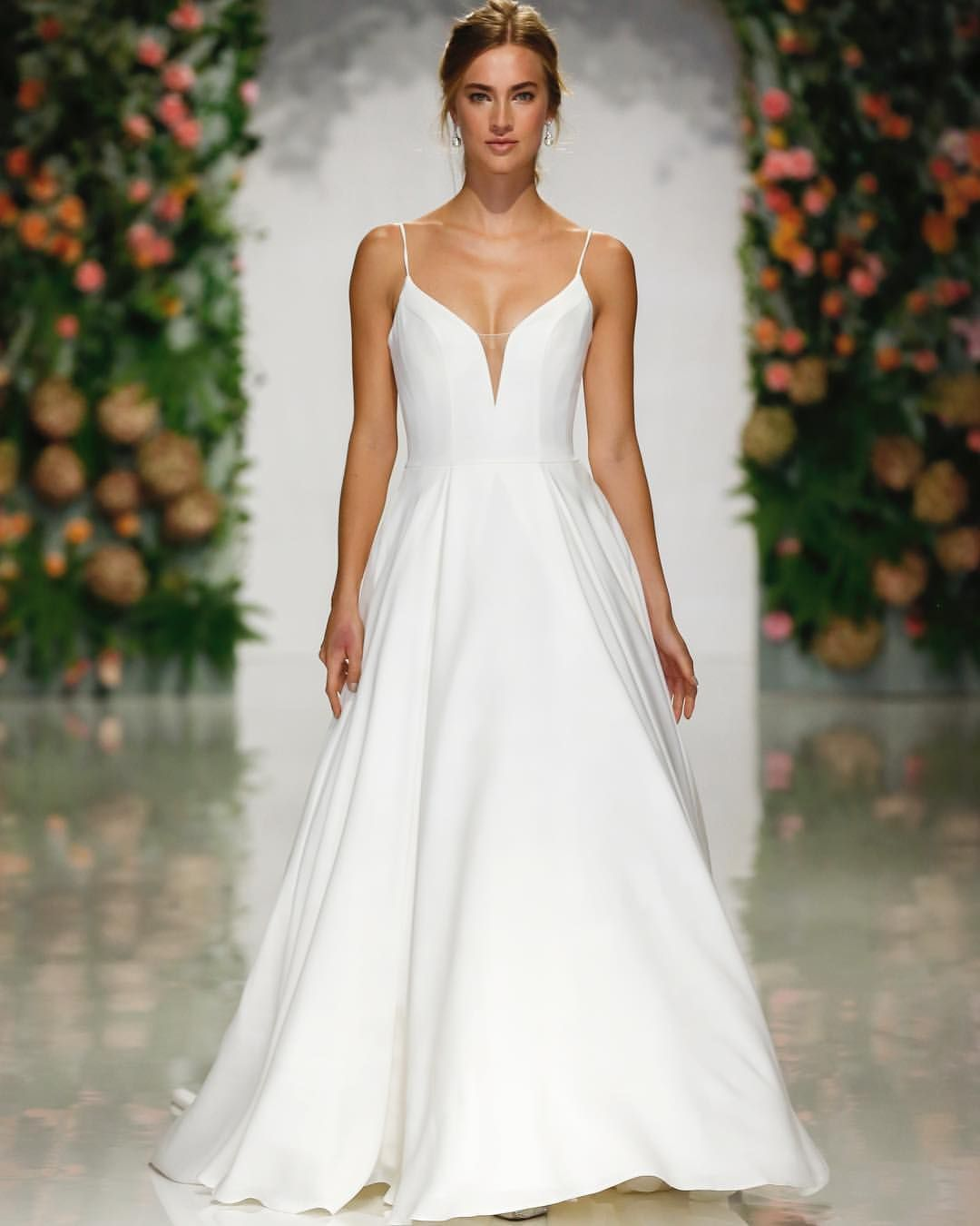 Mori Lee 2019 Wedding Dresses: Simple, Sleek, And Oh-so #chic! 😍 Pacifica, Style 5706