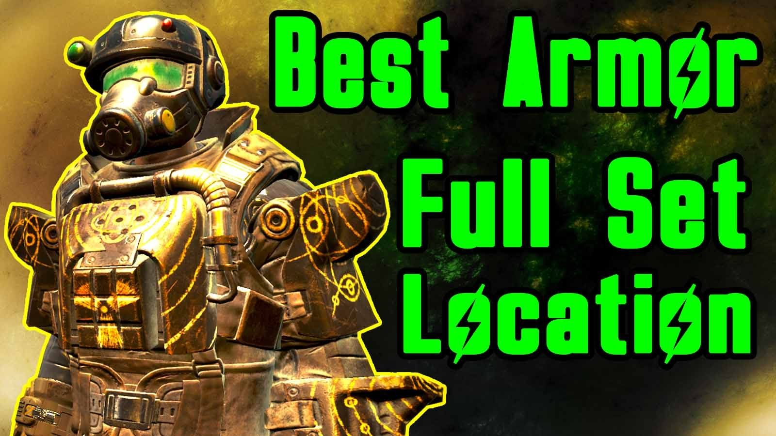 Fallout 4 Best Armor How to get FULL Marine Assault