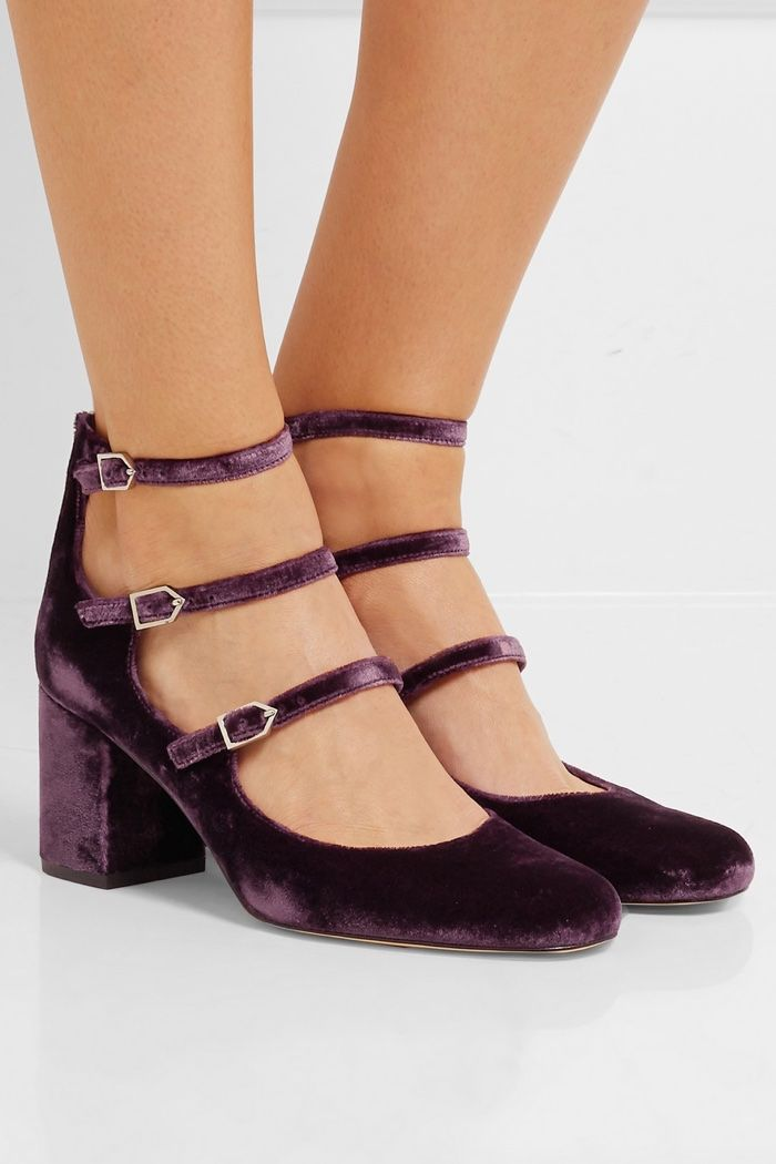 5662cbc17 New Arrivals  Sam Edelman s Velvet Shoes Are Perfect for Fall ...