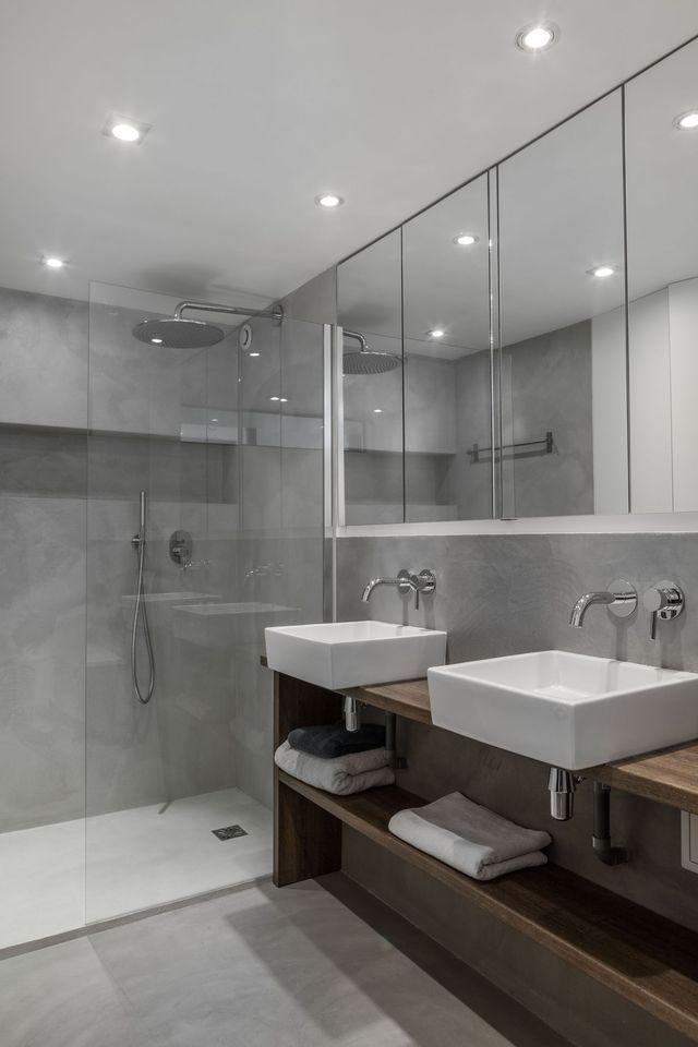 Loft Paris Du Béton Pour Un Intérieur Lumineux Beton Loft - Cote maison salle de bain