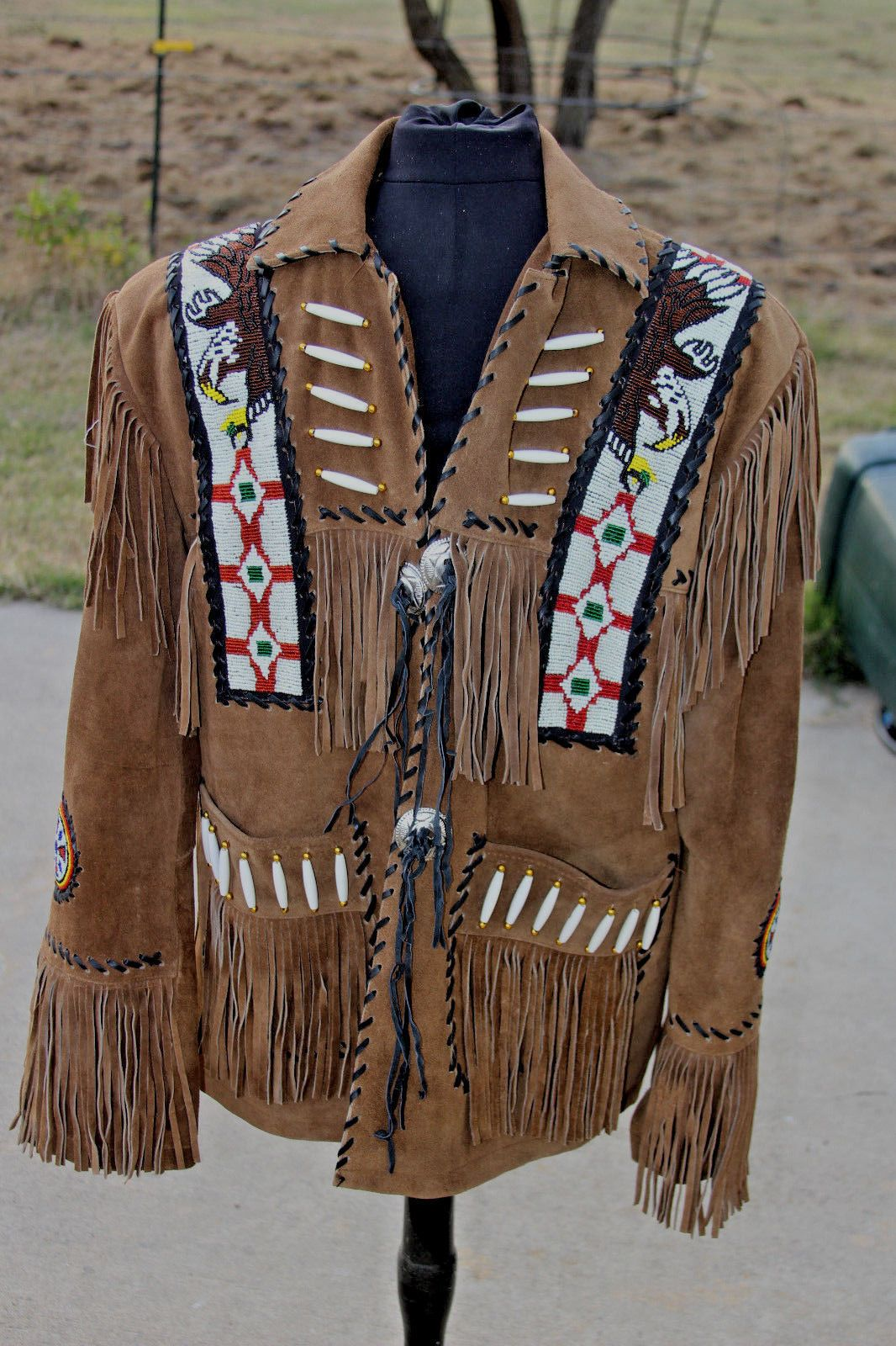 Made To Order Men Tribal Indian Boone Eagle Western Cowboy
