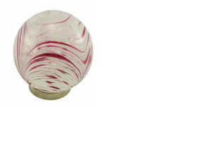 Hand Blown Glass Friendship Ball Pink. Available at www.threemadfish.com for delivery Australia wide.