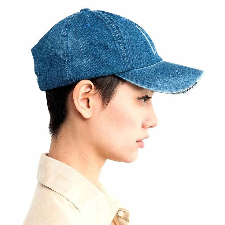 Image result for baseball cap with short hair  95de6e18e5d