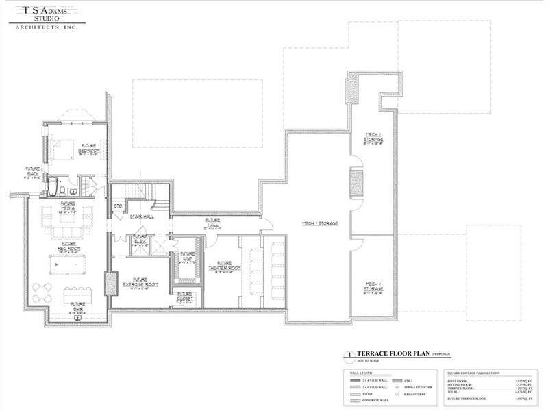 4035 5 Randall Mill Way Atlanta Dorsey Alston Luxury House Plans Mansion Floor Plan House Floor Plans