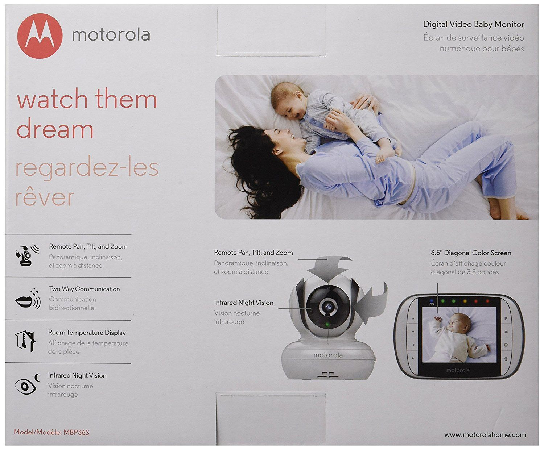 Motorola Digital Video Baby Monitor with 3.5-Inch LCD Screen