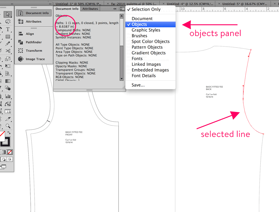 Pattern Drafting With Illustrator
