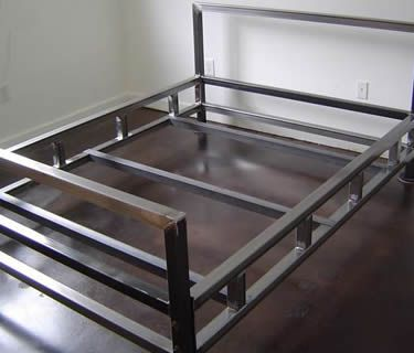ss400 steel angle used as bed frame - Used Bed Frames