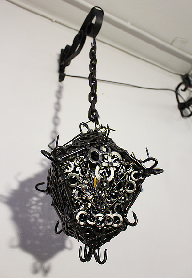 Soudure Sculpture Contemporaine Lanterne De Fer Artquid Reverbere œuvre Art Lumiere Lampe Lumin Contemporary Sculpture Iron Lanterns Sculpture