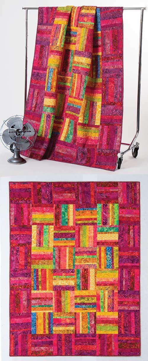 Heat Wave Quilt Kit Designed By Karla Alexander Quilts