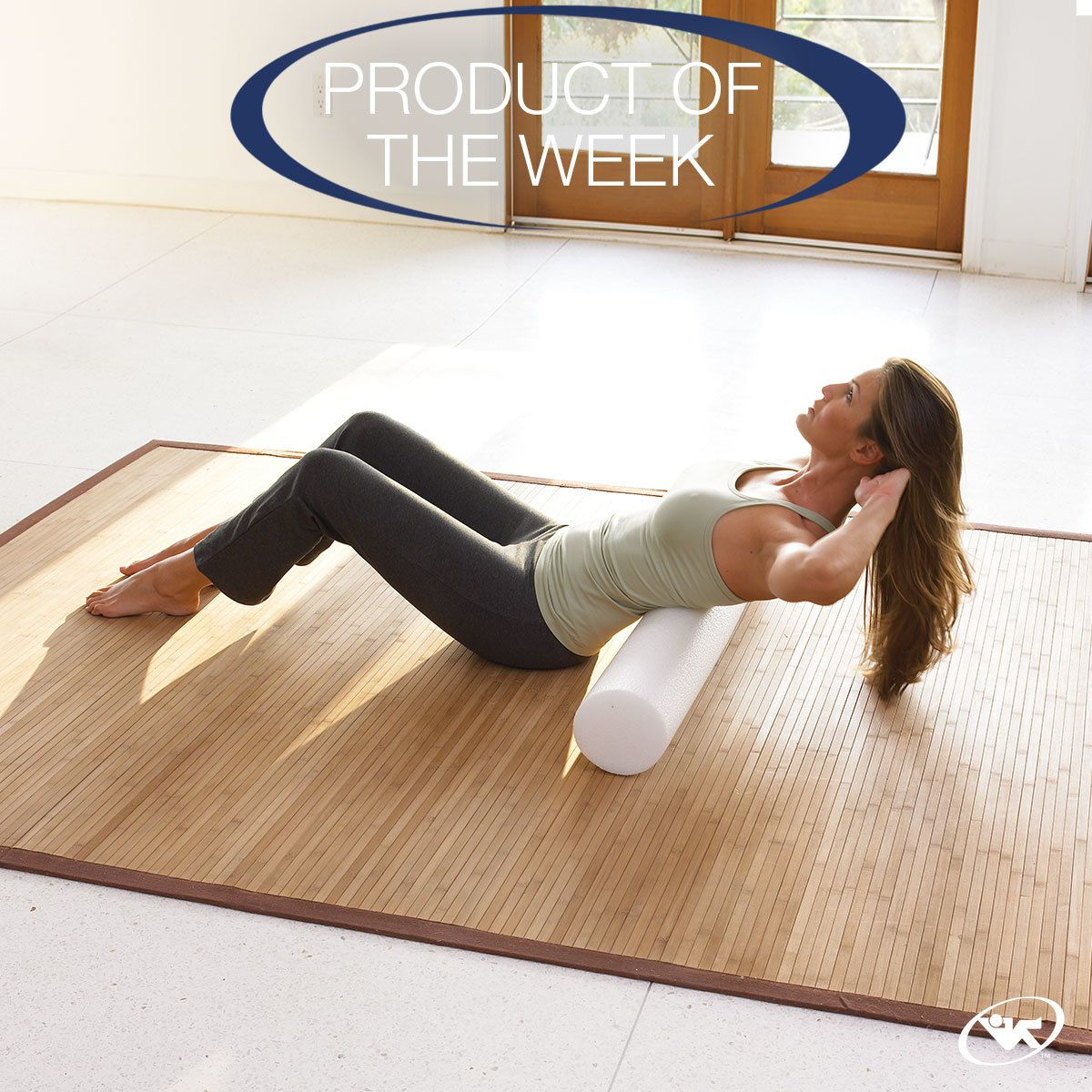 Improve flexibility, release tension in stiff muscles, and increase strength with Exercise Foam Rollers.