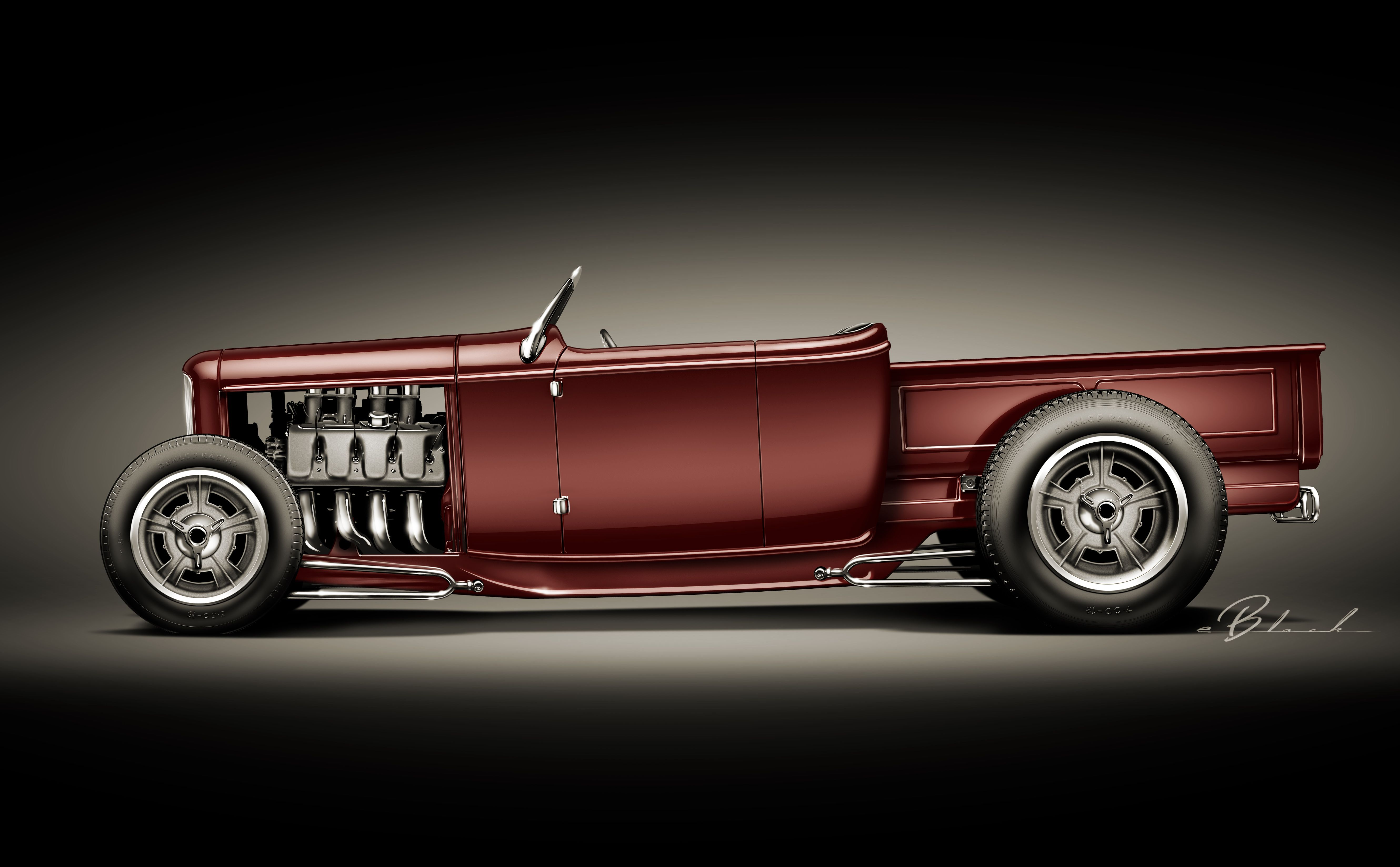 Hollywood hot rods 32 ford roadster pickup hotrodsclassiccars