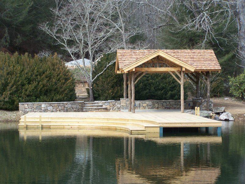 Custom Dock Hendersonville #WNC #Remodel #Outdoors #Lake Remodels